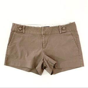 Banana Republic Stretch Shorts Brown Size 8